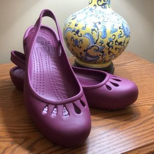 Crocs Kadee slingback, purple -10W